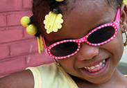 Polka Dot Sunglasses for young girls