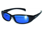 Blue Lens New Attitude Motorcycle Glasses