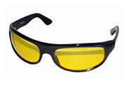 Pacific Coast Sunglasses The Wrap Yellow Lens Motorcycle Glasses