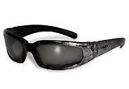 Grey Marble Chicago Motorcycle Sunglasses