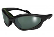 Neptune Motorcycle Glasses with Gunmetal frame