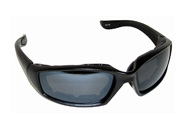Venom Padded Motorcycle Glasses