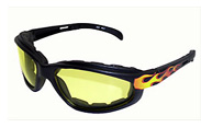 Motorcycle Glasses for riding with soft foam gaskets