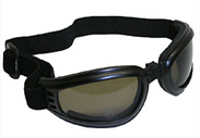 airfoil nomad wide lens polarized smoke lens folding motorcycle goggles