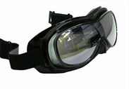 Airfoil 9300 Motorcycle Goggles are a must for big head riders