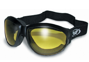 Eliminator Goggles with Yellow Lenses