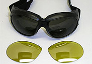 Interchangeable Lens Goggles, Exchangeable Lens Goggles, Goggles with swapable lenses