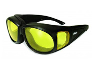 Outfitter Yellow ANSI Lens Over Glasses Sunglasses