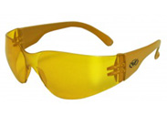 Yellow Lens Rider Safety Glasses by global vision eyewear