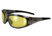 Yellow Lens Rider Sunglasses by Global Vision Eyewear