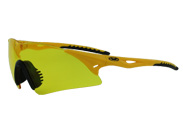 Yellow Lens Transport ANSI Z87.1 Sports Safety Glasses by global vision eyewear