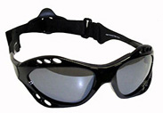 Black Waveshield Originals with Smoke Lenses