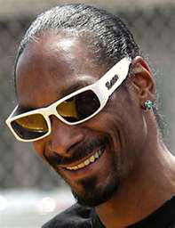 Snoop Dogg White Locs Sunglasses