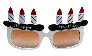 happy birthday sunglasses novelty glasses